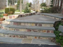 Masonry Steps And Landing