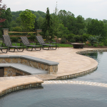Travertine Pool Deck 150x150 The Appeal of Travertine Natural Stone