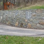 Boulders in Wall 2013 01 01 150x150 Using Boulders to Accent Hardscaping
