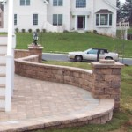 EP Henry Stacked Cap 150x150 Natural Stone Pillar Caps: Hardscaping Options