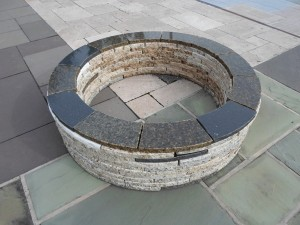 Granite Fire Pit 300x225 Building a Natural Stone Fire Pit