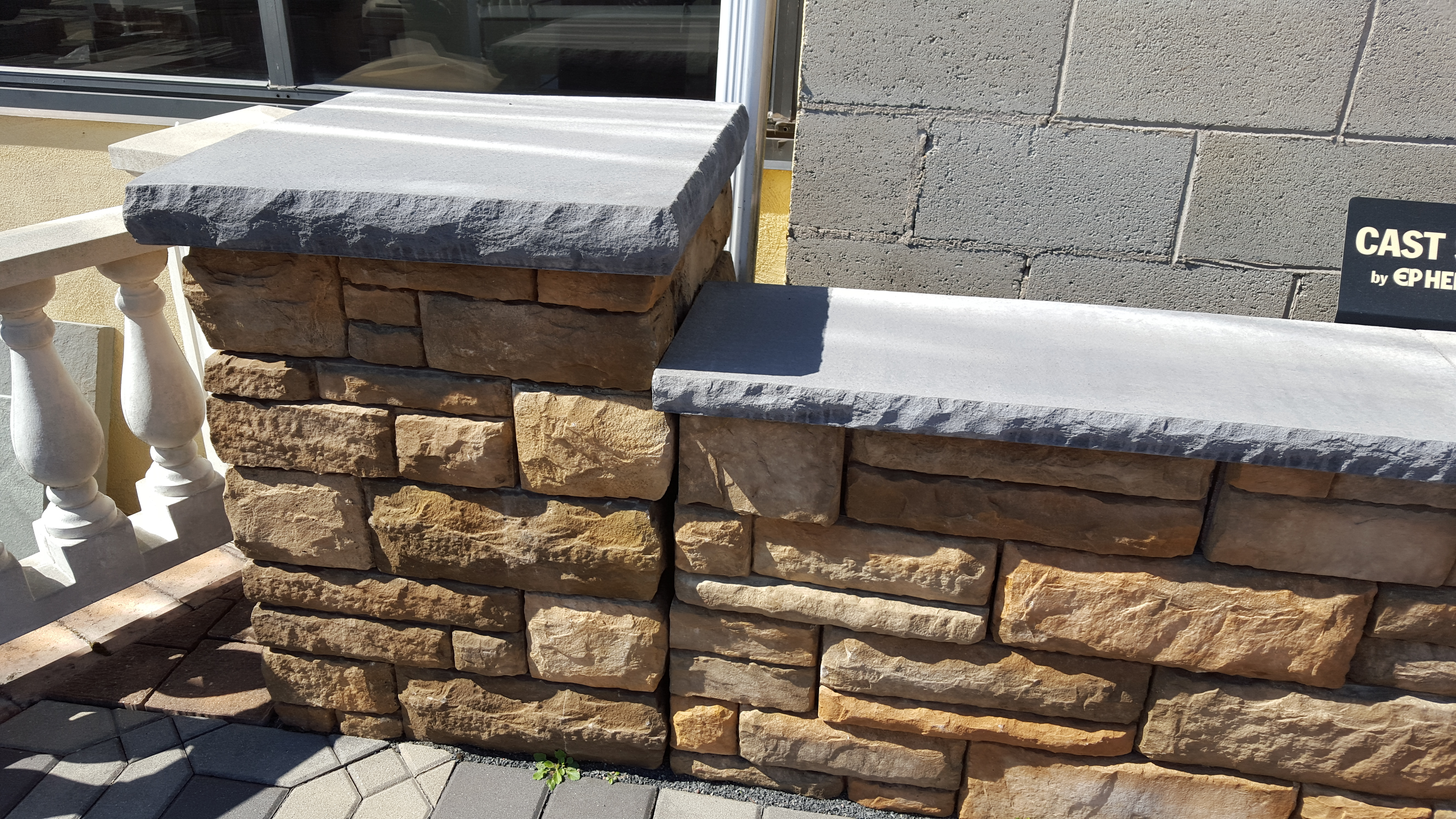 Veneered Walls In Pa Masonry Walls Amp Hardscaping
