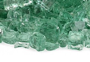 Green Fire Glass Amazing Choices for Fire Pit Media