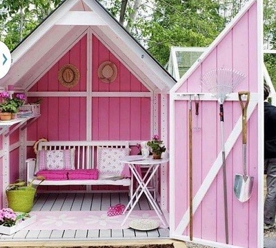 image 1 How to Create Your Own Outdoor She Shed